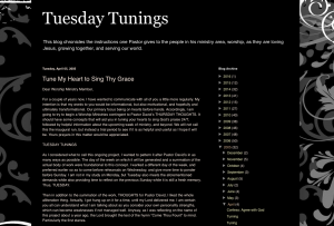Tuesday Tunings